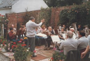 Holymoorside Band from 1987