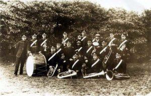 Holymoorside Band 1870s
