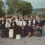Holymoorside Band from 1976
